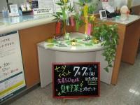 各支店で「七夕イベント」を実施しました。