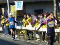 小野ハーフマラソンで応援(下東条支店)