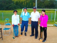 豊地支店 グラウンドゴルフ大会開催!
