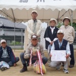 優勝した旭松Aチームの皆さん