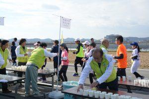 小野ハーフマラソンをサポート