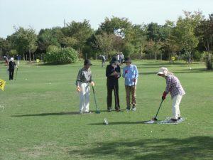グラウンドゴルフ大会で交流を深める⛳